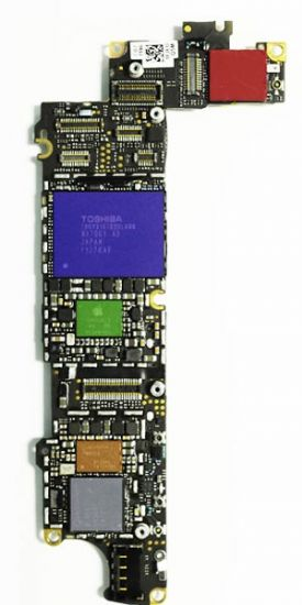 iPhone 4s Logicboard Pcb Connector Reparatie