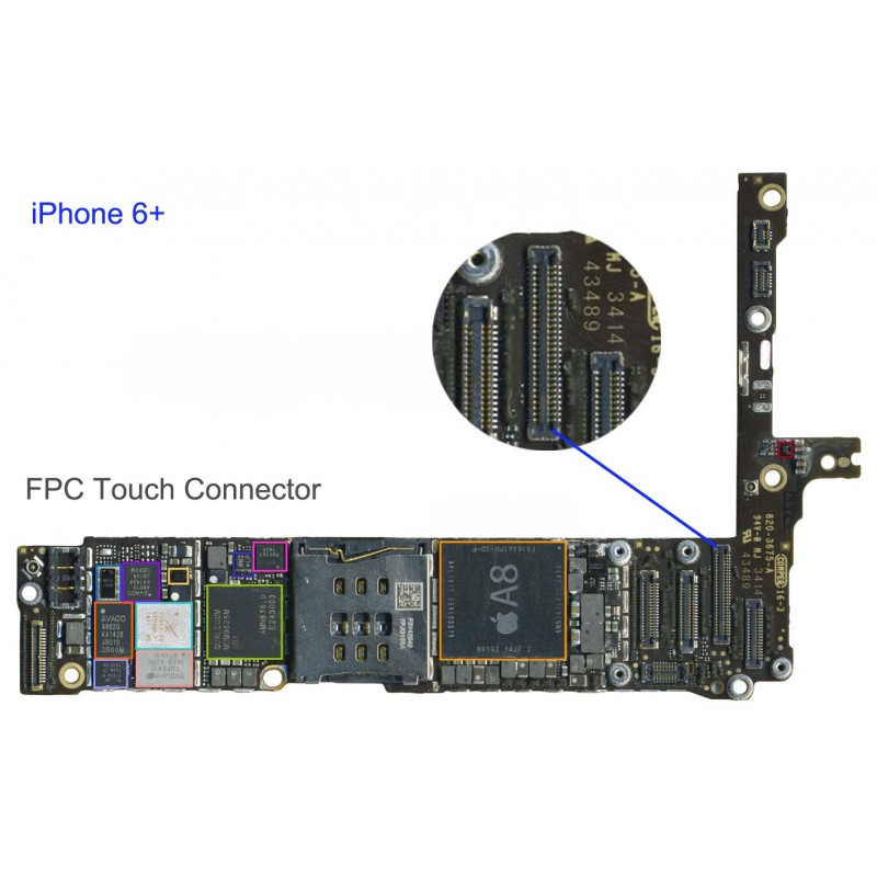 iPhone 6 Plus Lcd/Touch Connector Vervangen